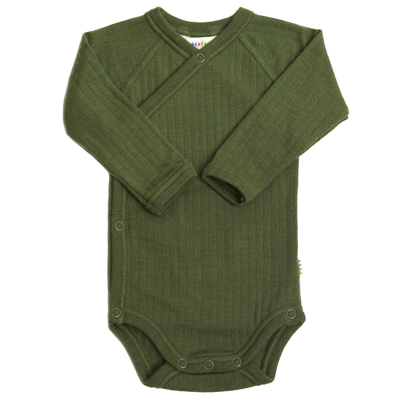 Wrap-over bodysuit - wool-silk-5
