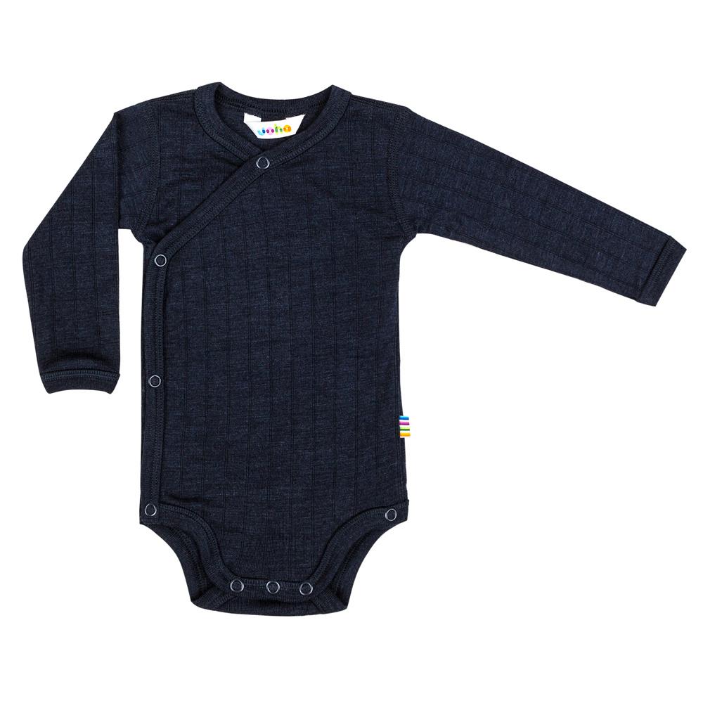 Wrap-over bodysuit - wool-silk-2