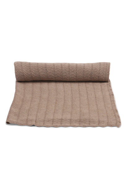 Baby blanket Pointelle Deux