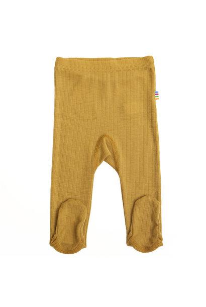 SALE - Baby broekje met voet - merino wol