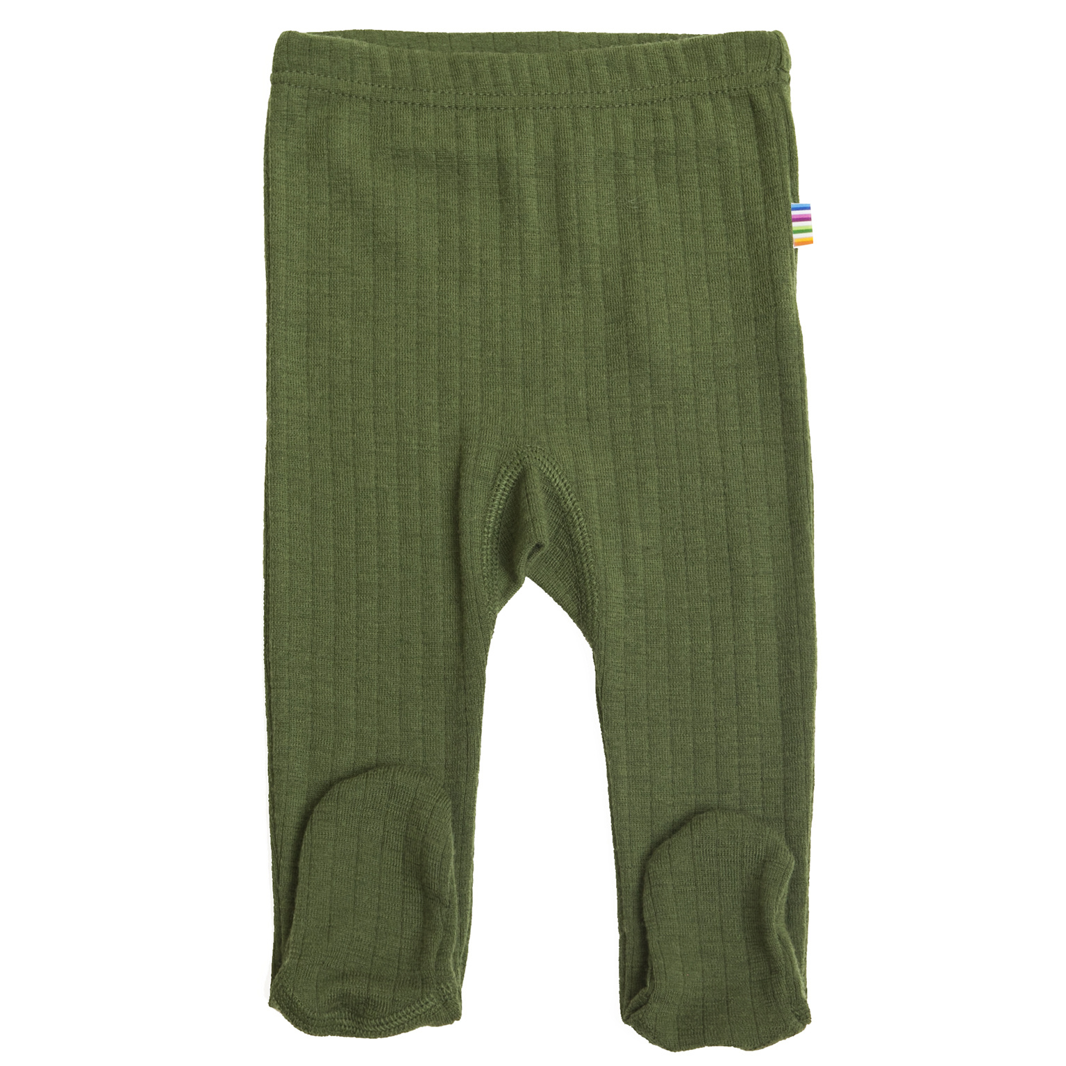Baby pants with foot - merino wool-3