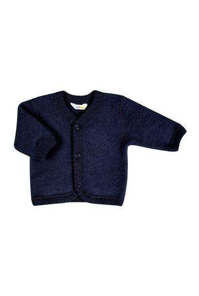 SALE - Vestje met knopen - wol fleece