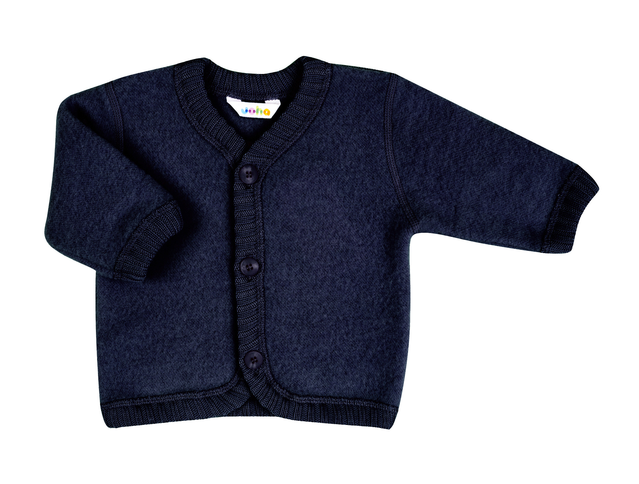 Vest with buttons - wool-fleece-2