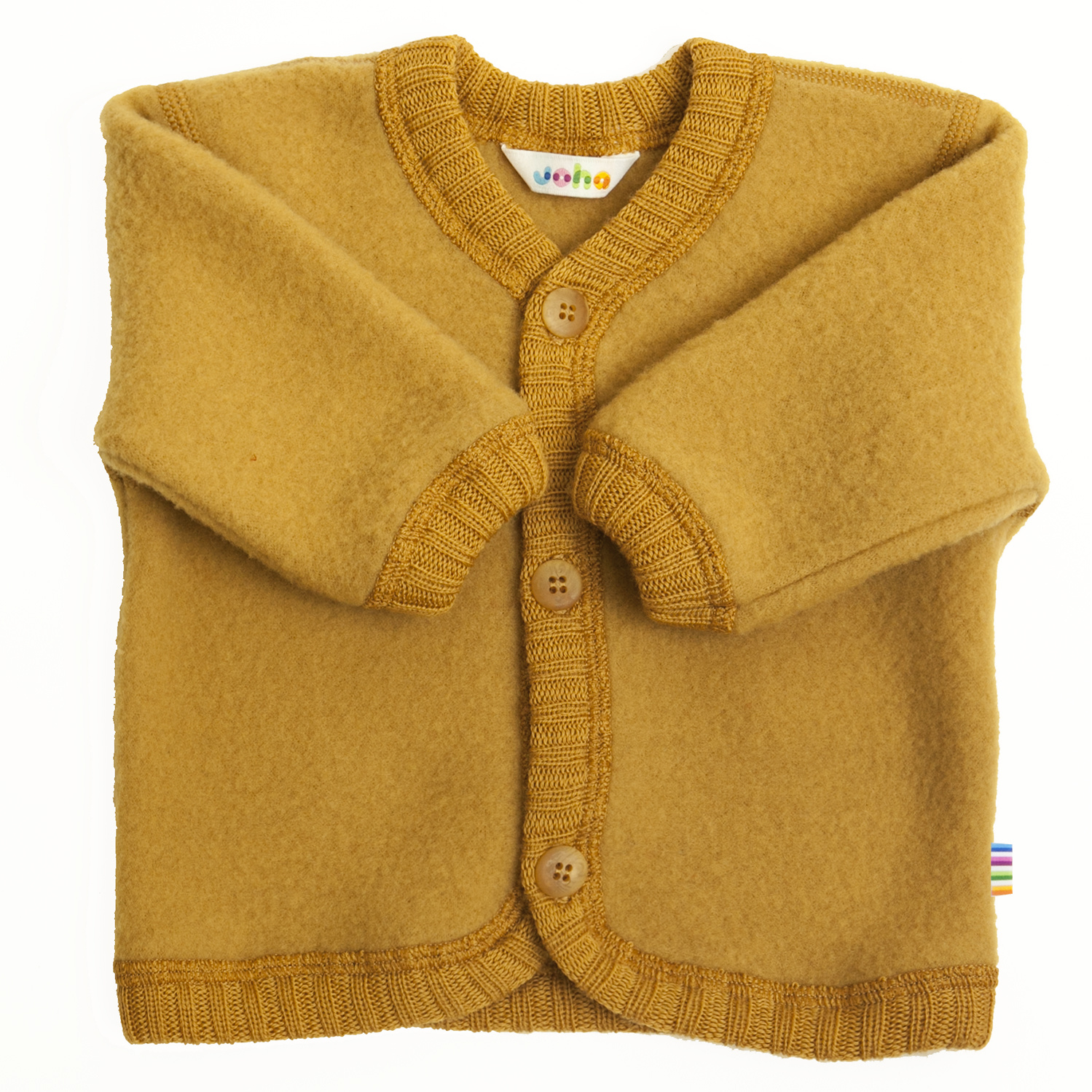 Vest with buttons - wool-fleece-5