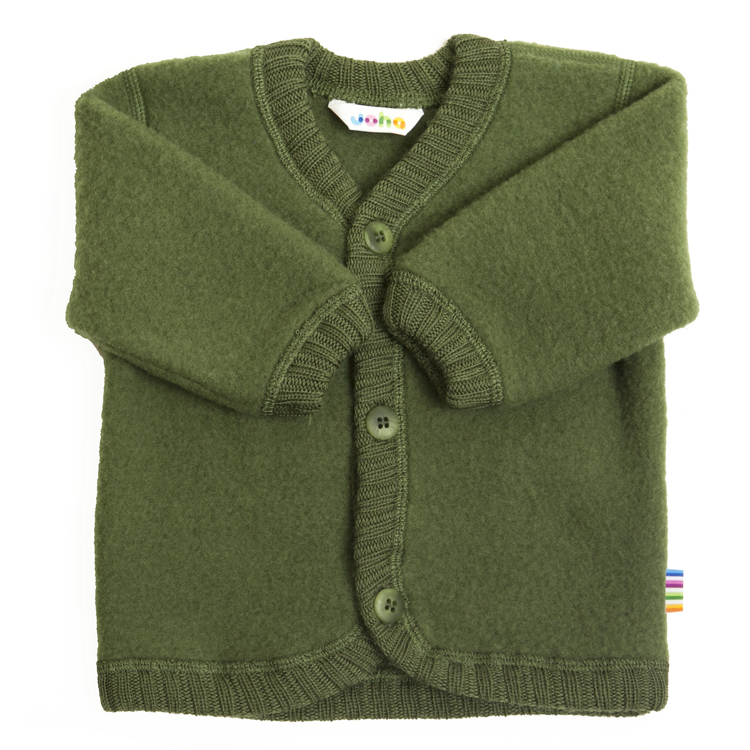 Vest with buttons - wool-fleece-6