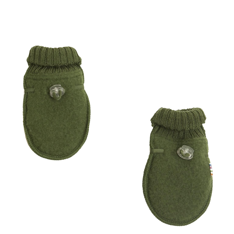 Baby Mittens - wool fleece-1