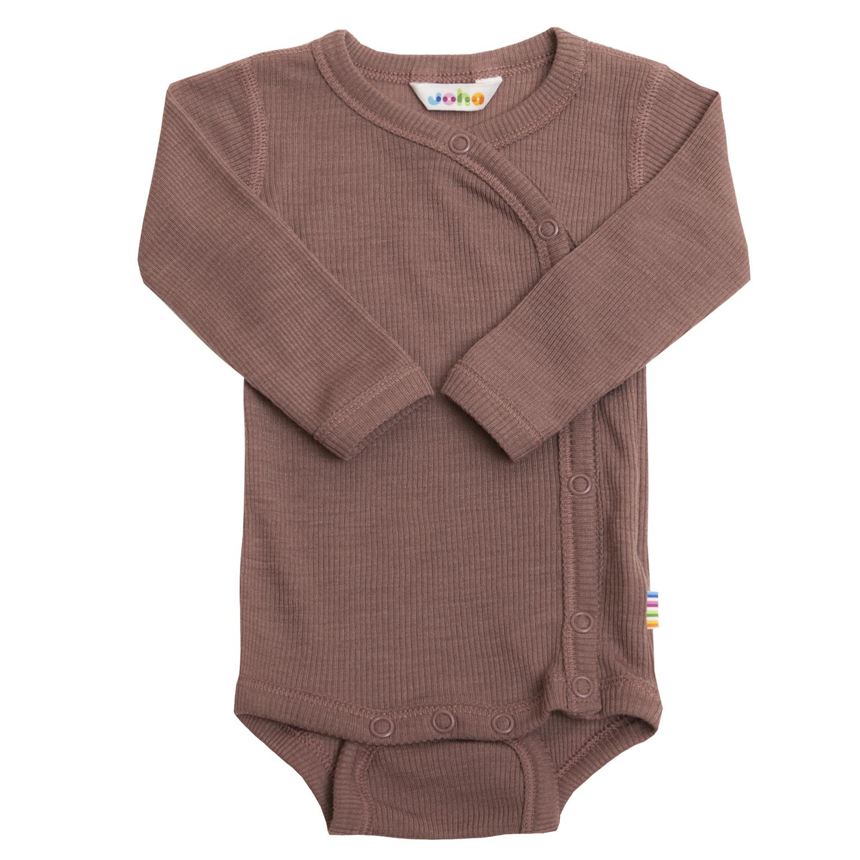 Wrap-over bodysuit rib - wool-silk-2