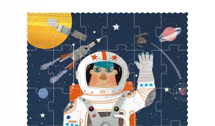 Astronaut Puzzle-2