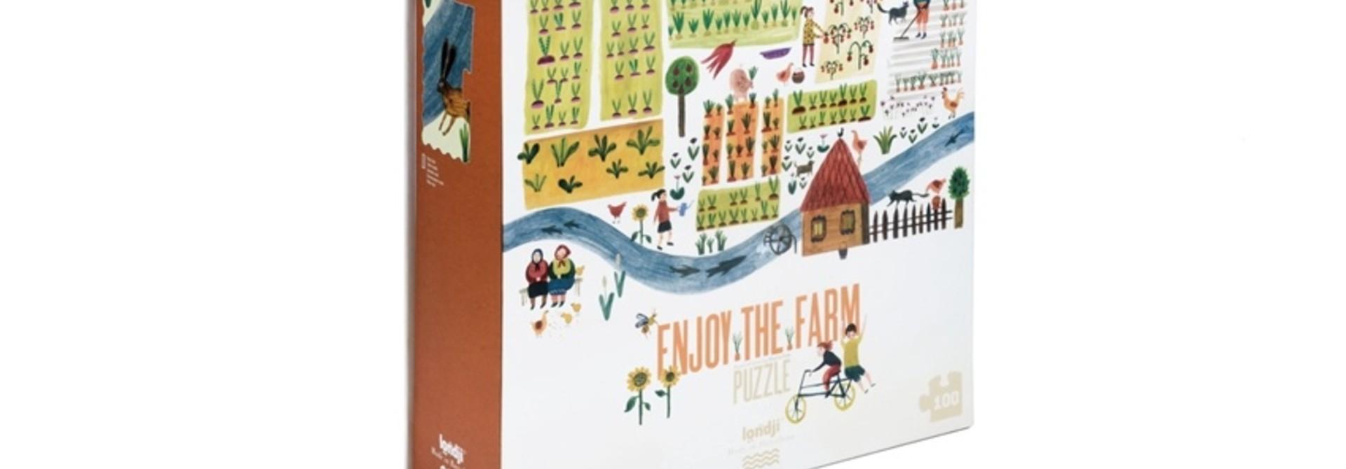 Enjoy the farm Puzzle