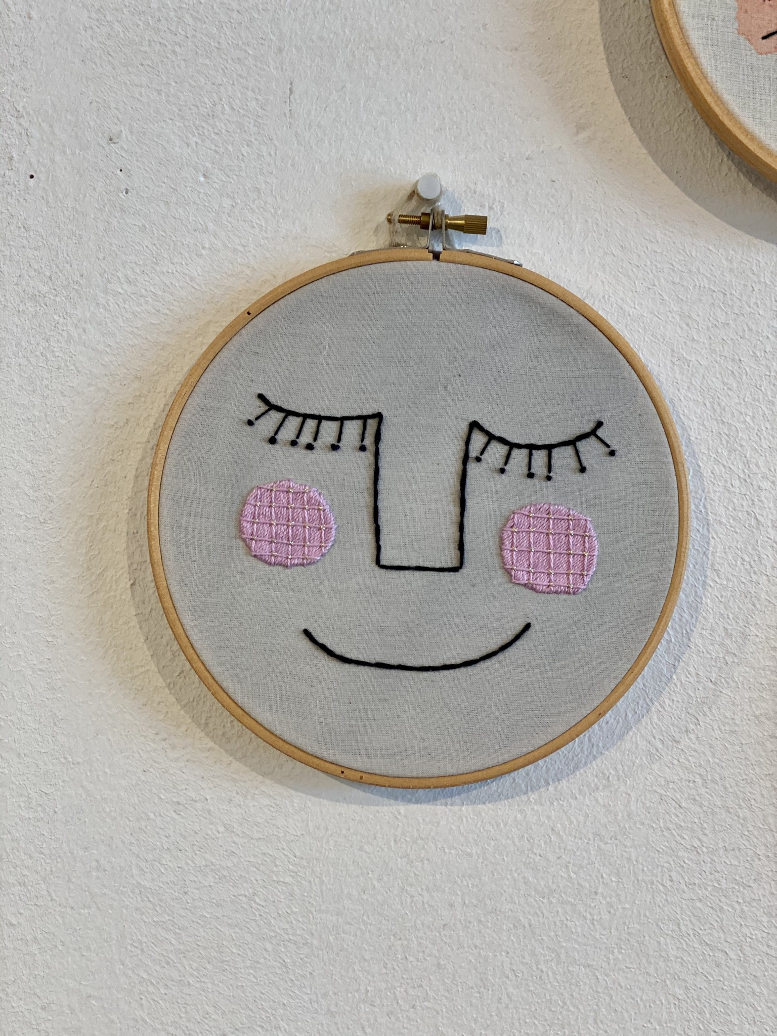 Embroidered wall hangings-1
