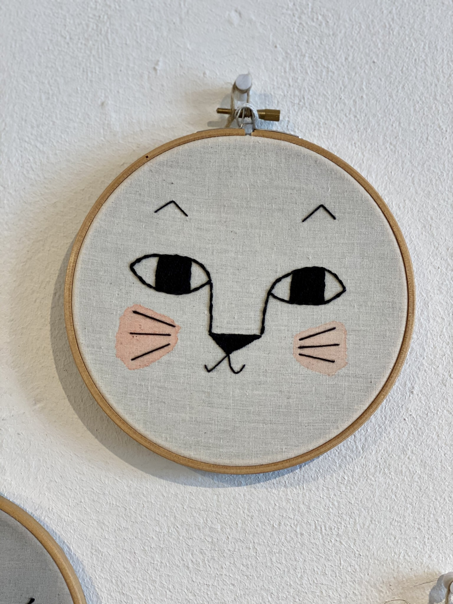 Embroidered wall hangings-3