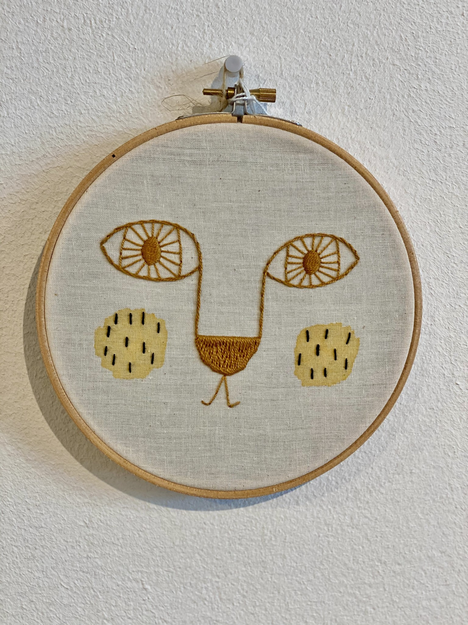 Embroidered wall hangings-5