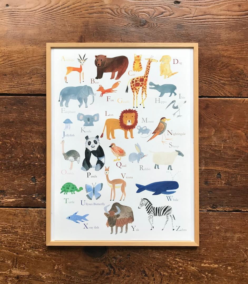 Poster ABC animals-1