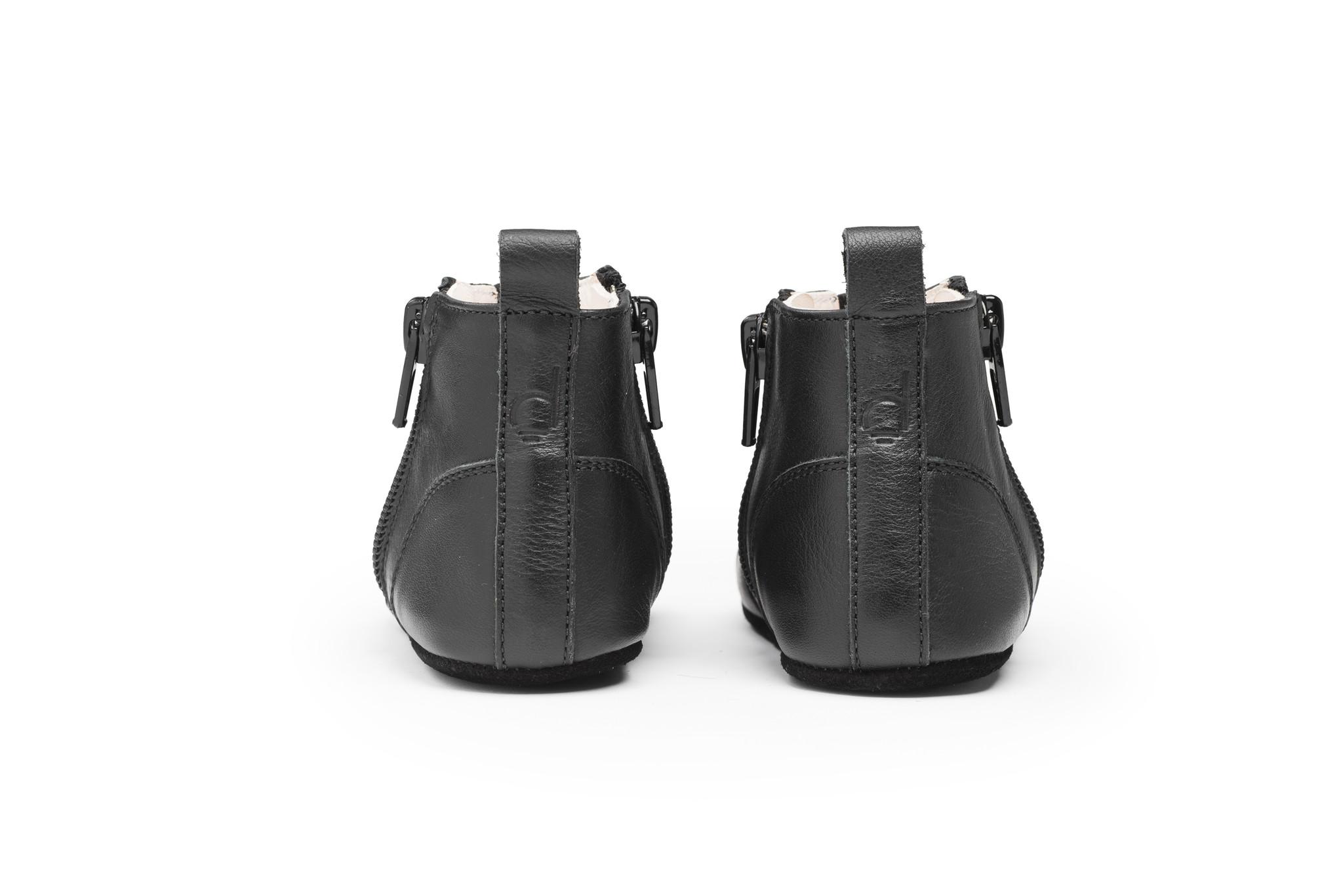 First steps Shoe - Night Black-2