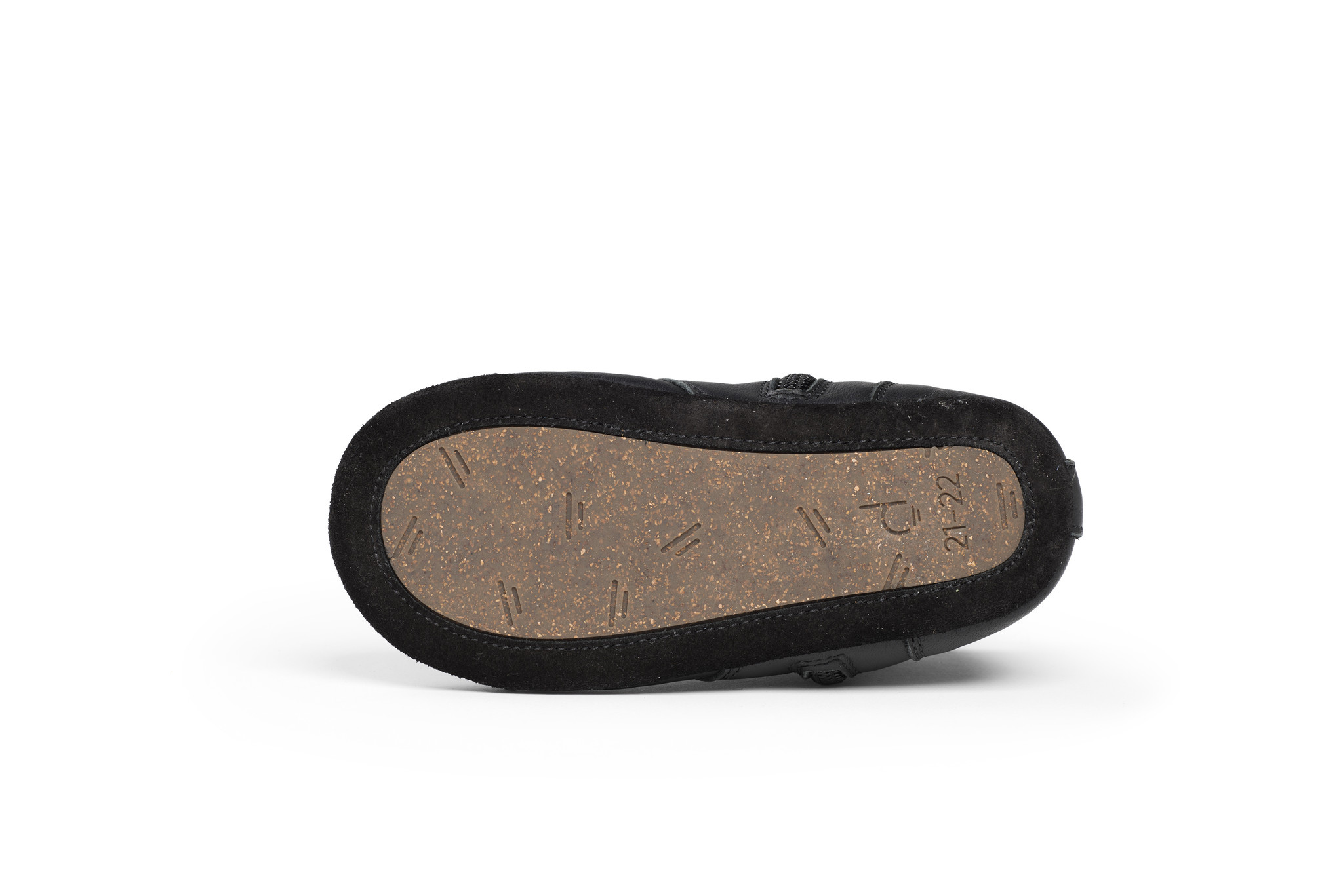 First steps Shoe - Night Black-4