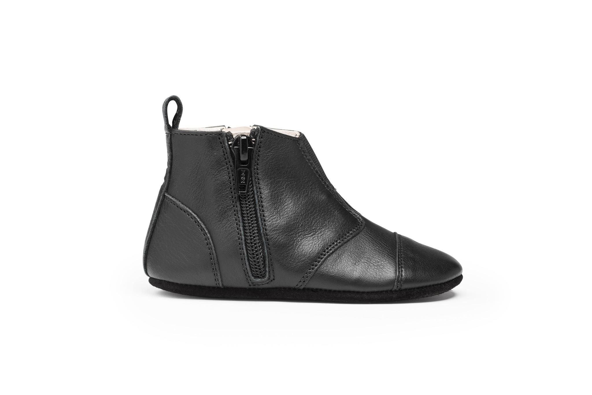 First steps Shoe - Night Black-3