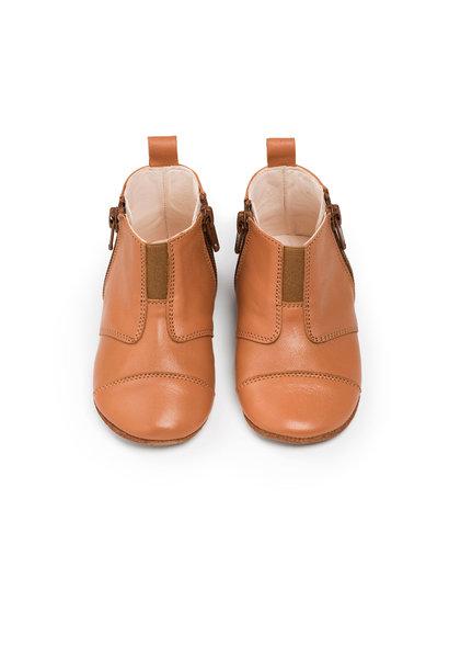 First Steps Shoe - Sunset Cognac