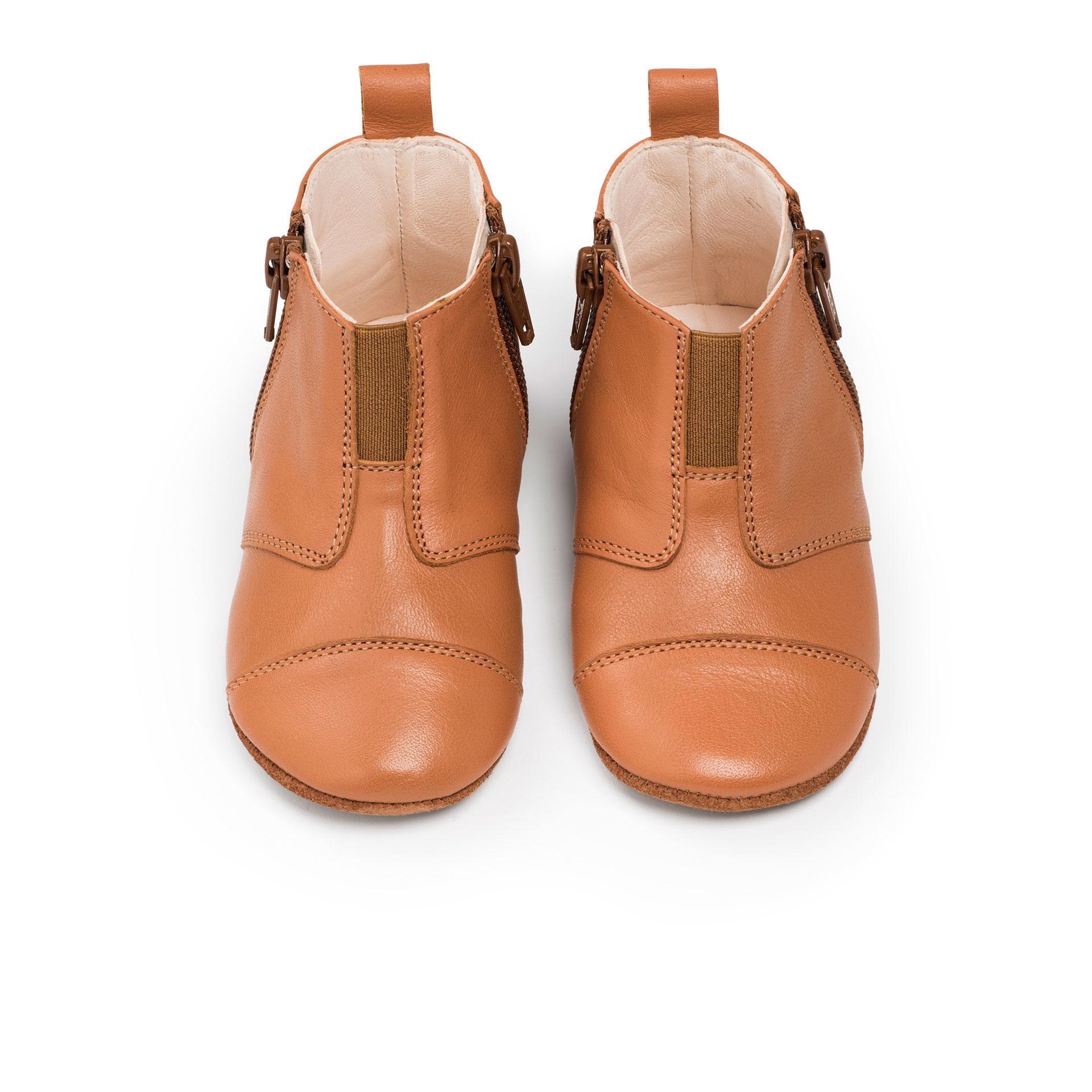 First Steps Shoe - Sunset Cognac-1