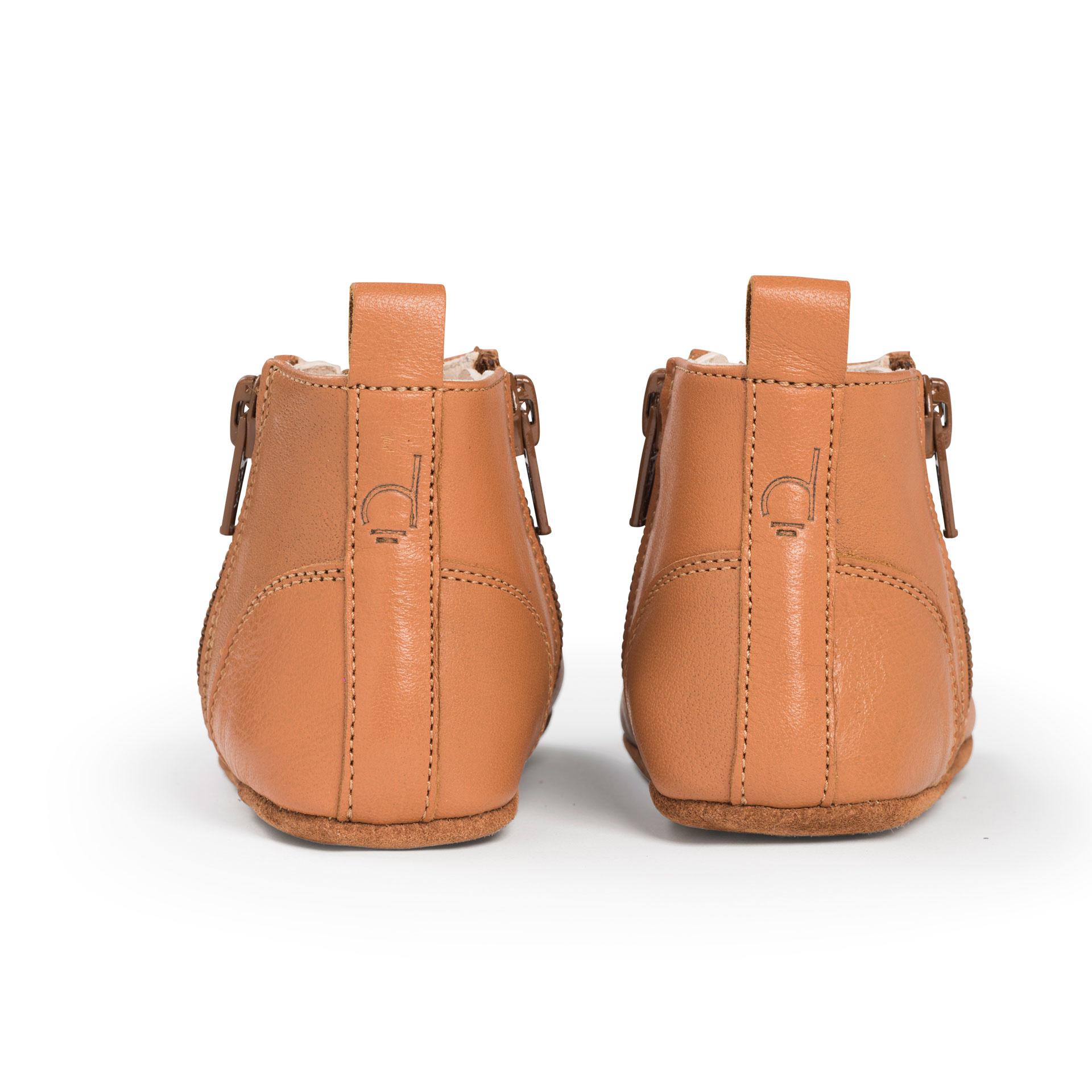 First Steps Shoe - Sunset Cognac-2