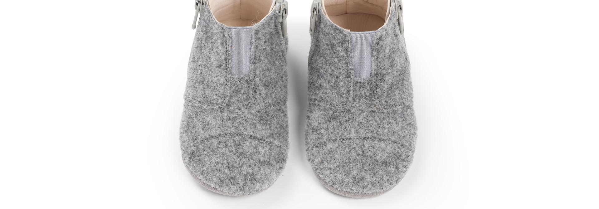 First Steps Shoe - Misty Grey