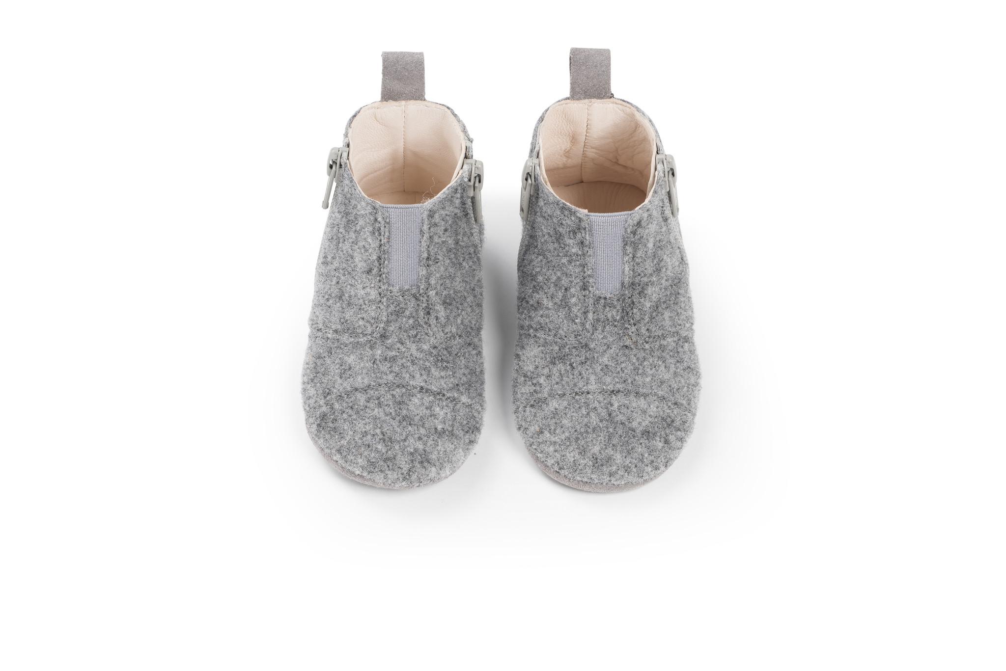 First Steps Shoe - Misty Grey-1