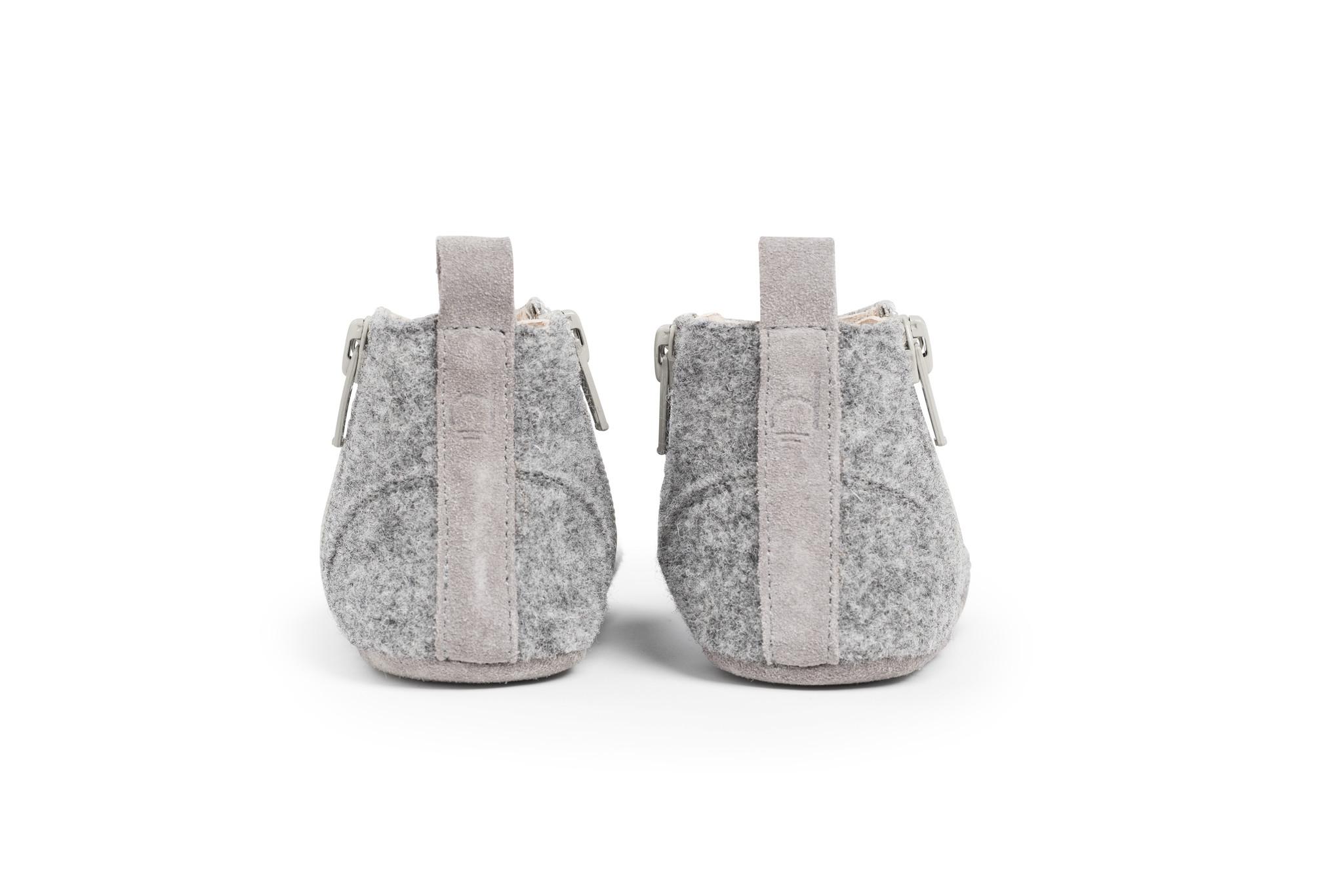 First Steps Shoe - Misty Grey-2