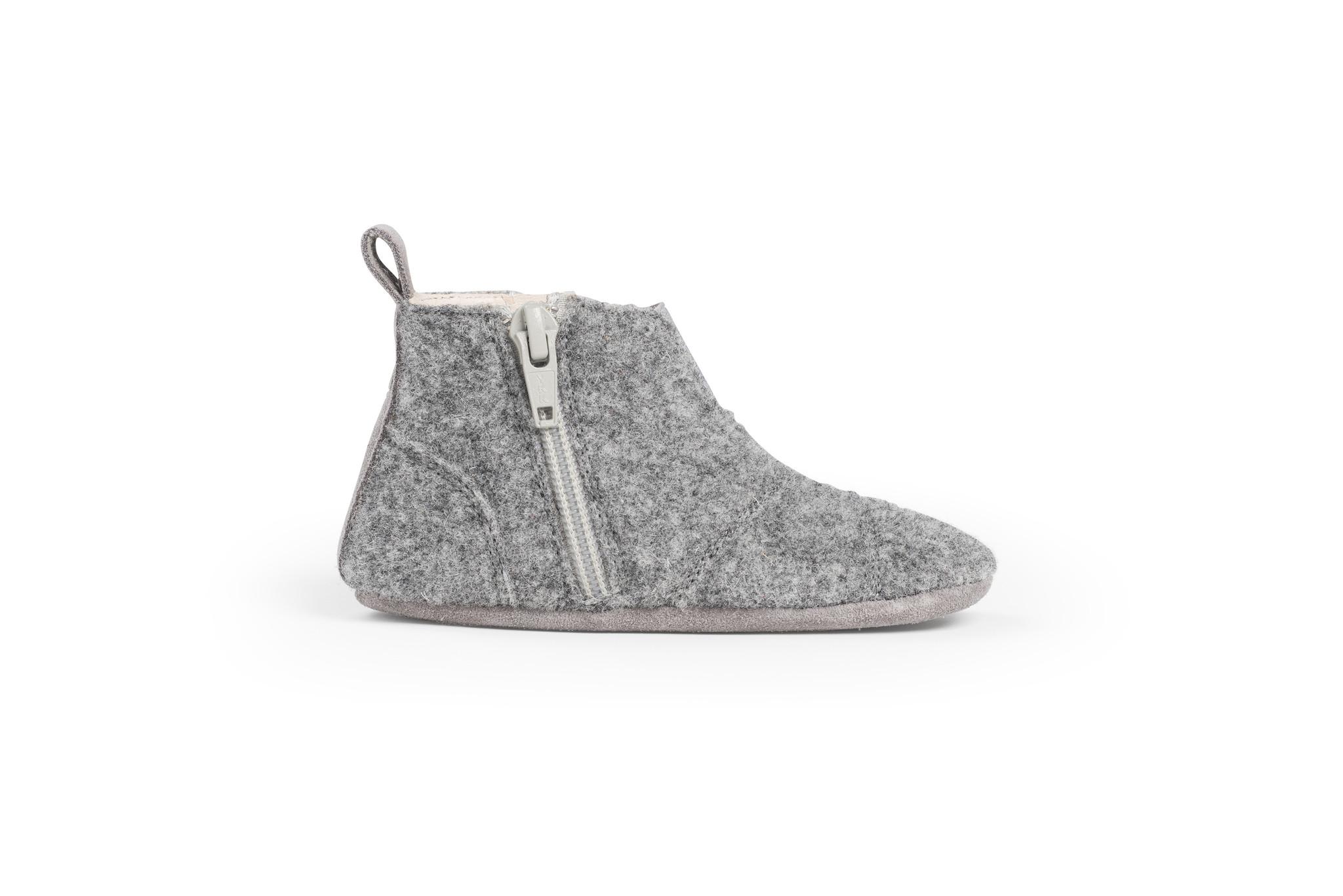First Steps Shoe - Misty Grey-3