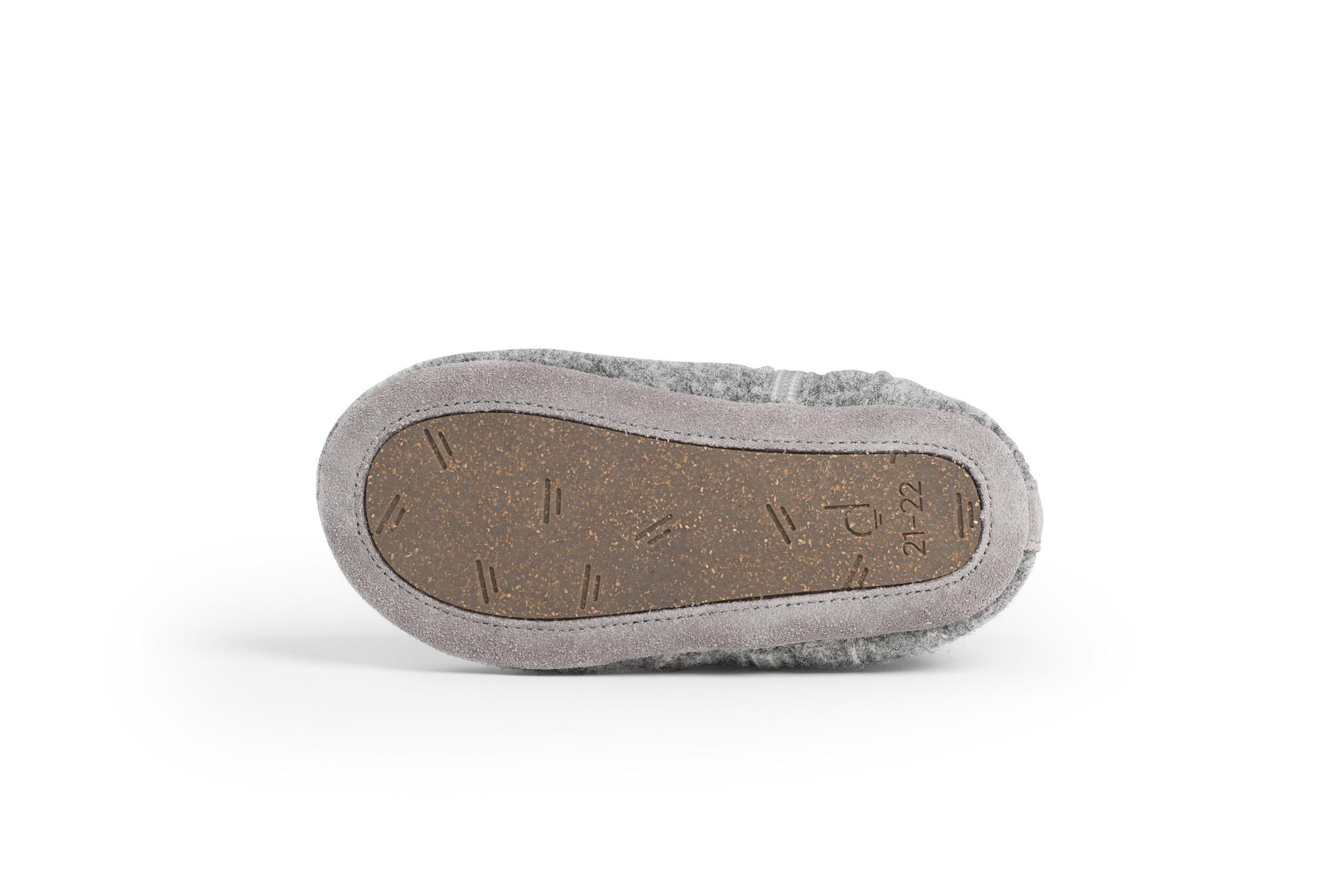 First Steps Shoe - Misty Grey-4