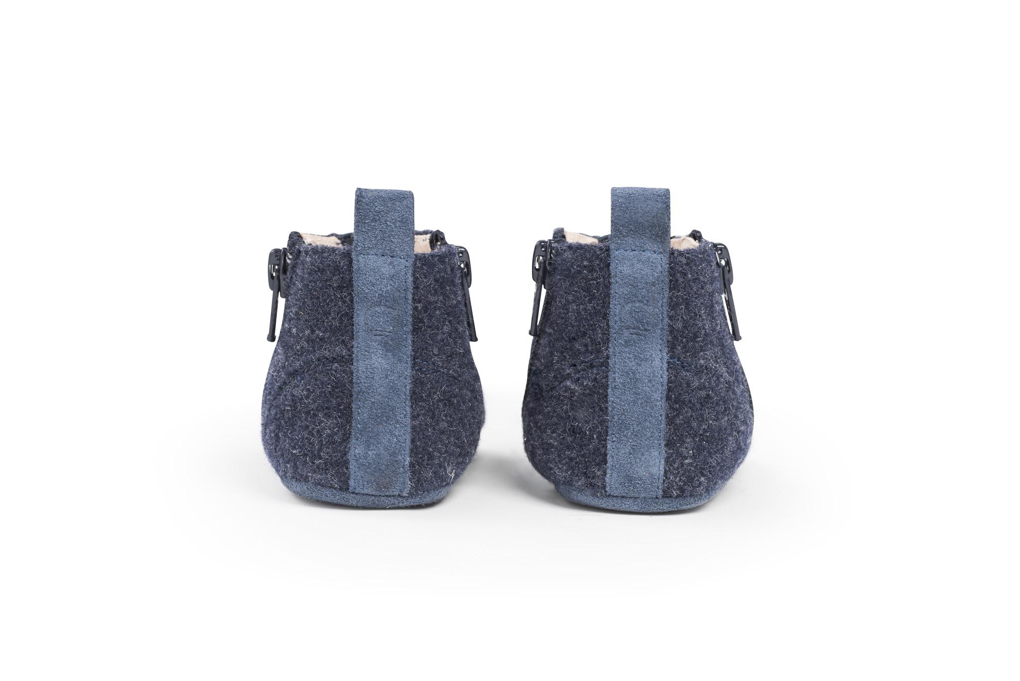 First Steps Shoe - Ocean Blue-2