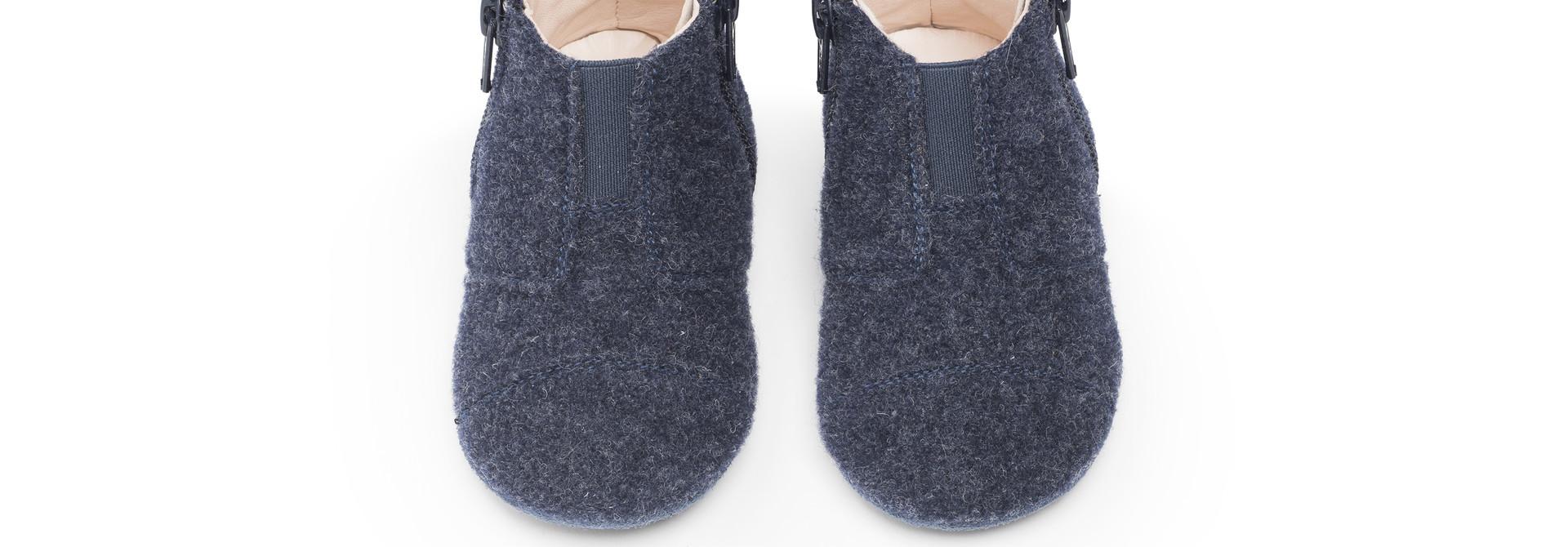 First Steps Shoe - Ocean Blue