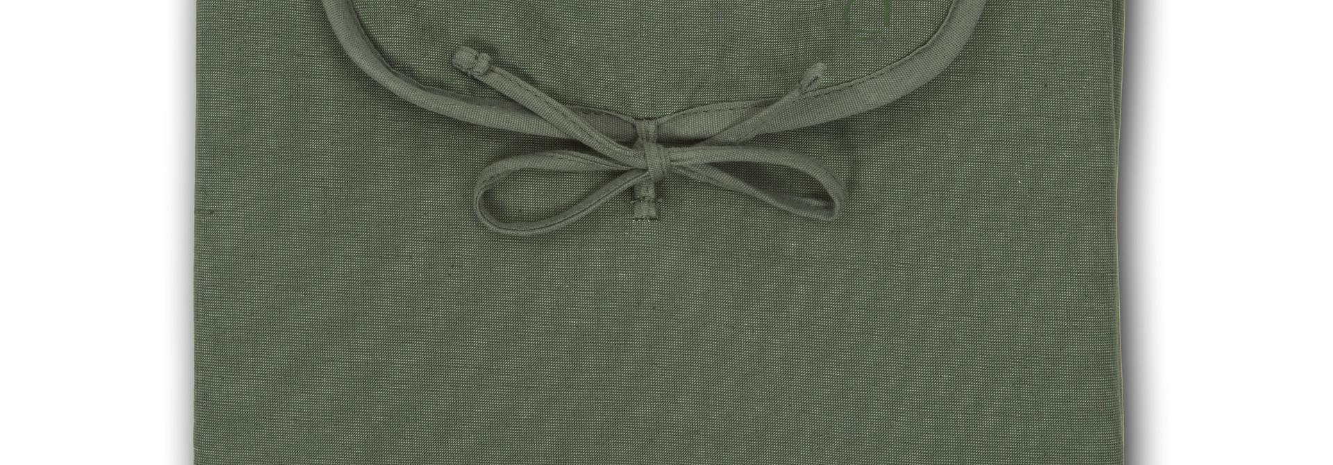 Changing Mat  -  Cotton blend - Marram Green
