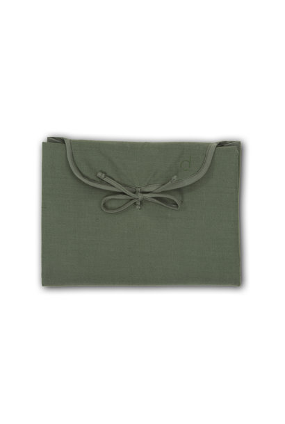 Changing Mat  -  Cotton blend - Marram Green