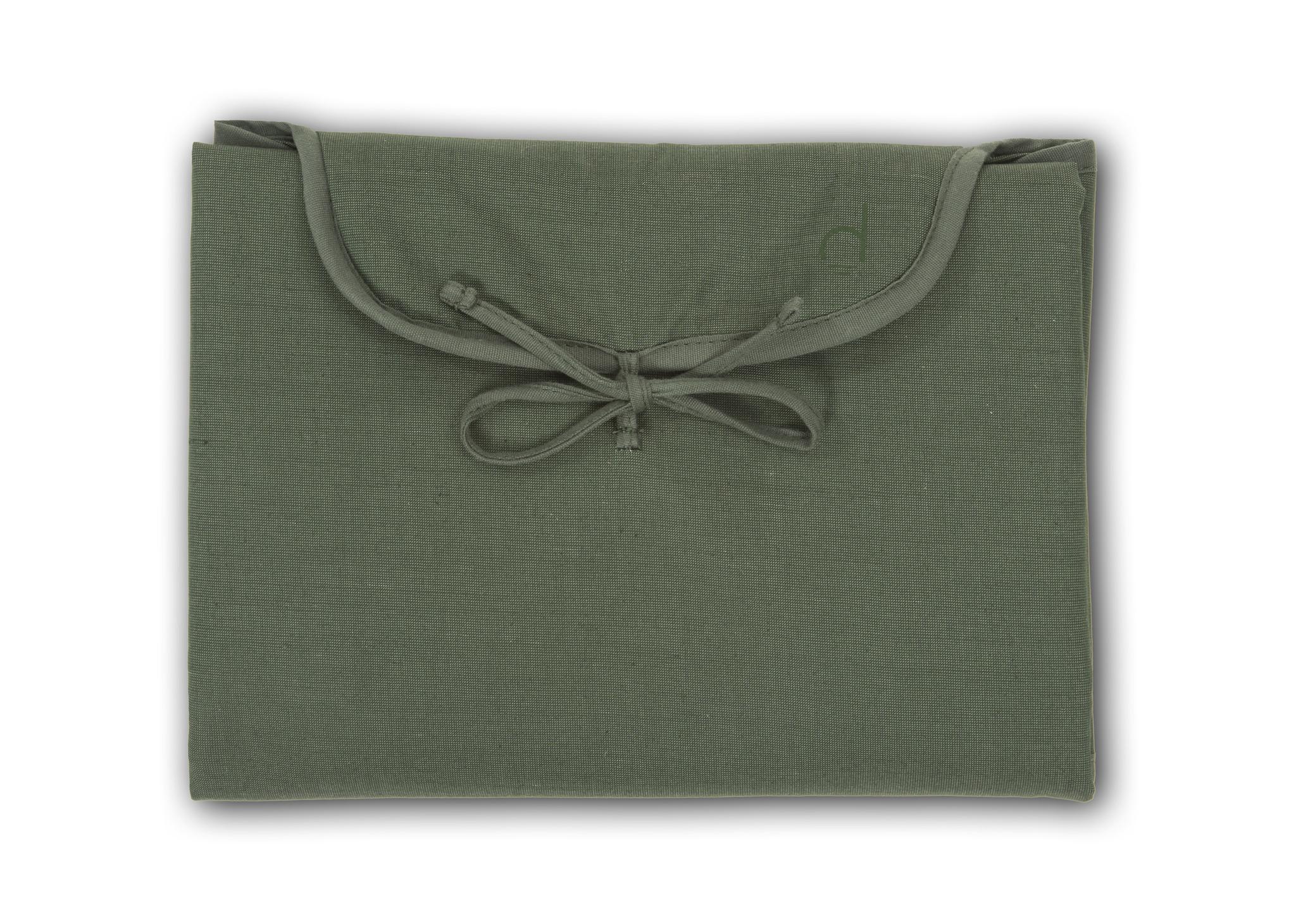 Changing Mat  -  Cotton blend - Marram Green-1