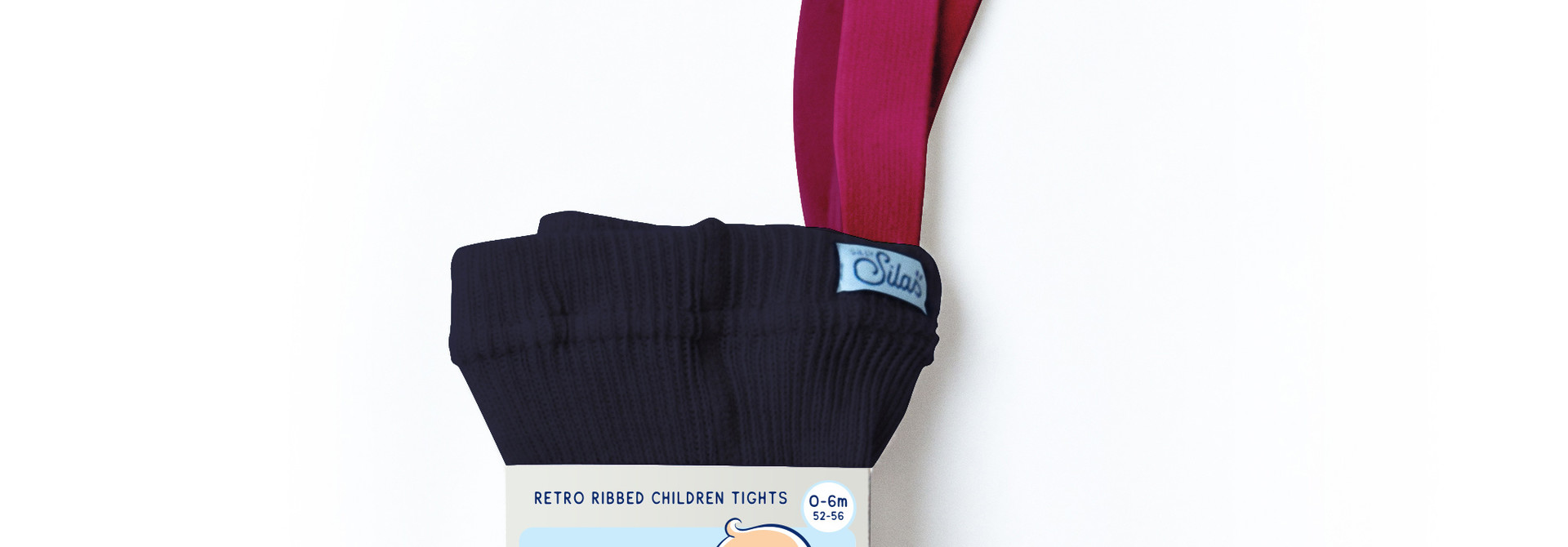 Tights - Dark Blue Magenta