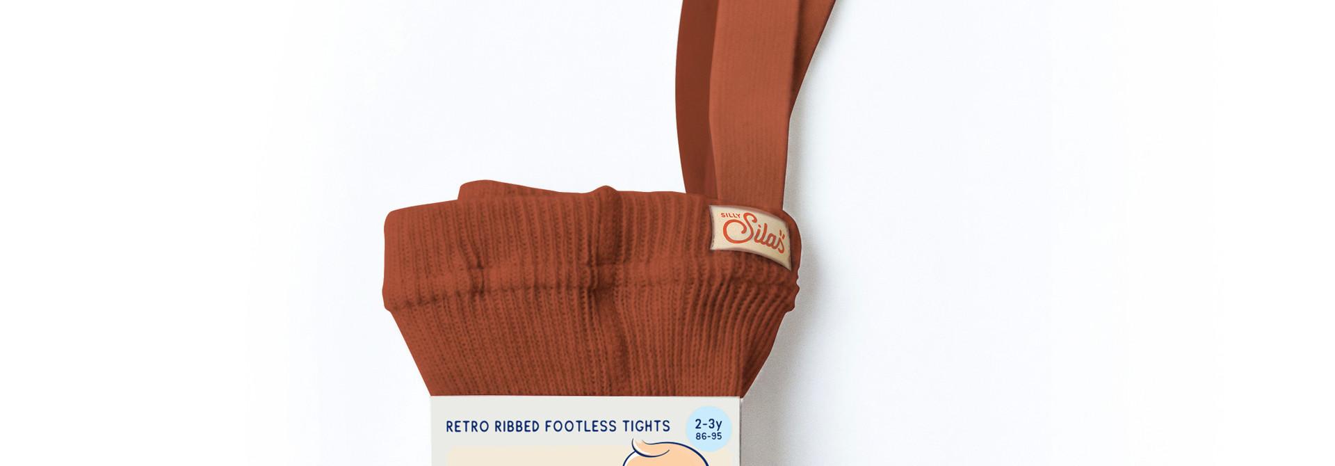 Footless Tights - Cinnamon
