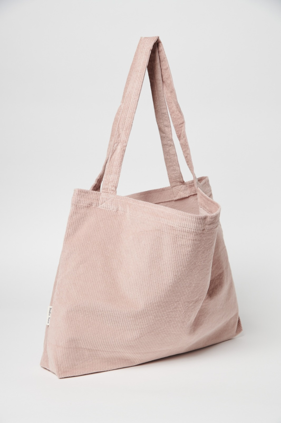 Dusty pink rib mom-bag-2