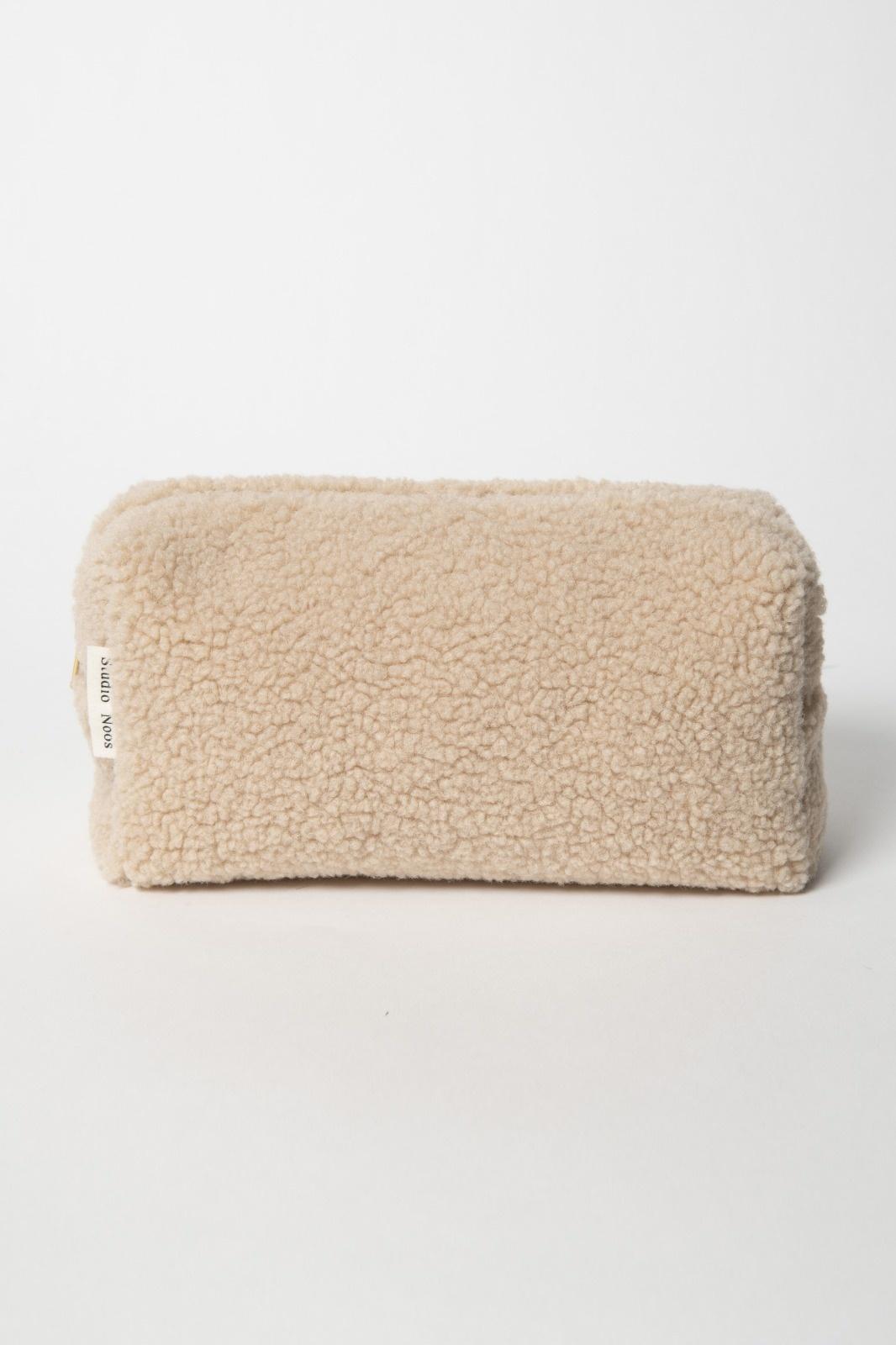 Chunky Pouch ecru-1