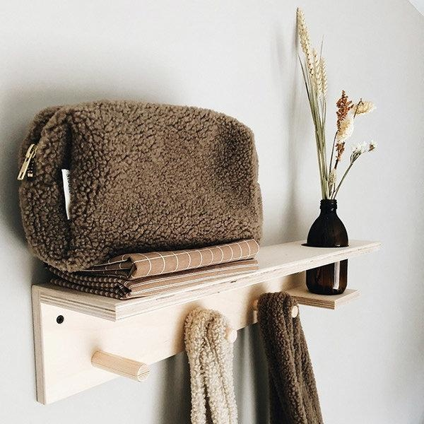 Chunky Pouch brown-3