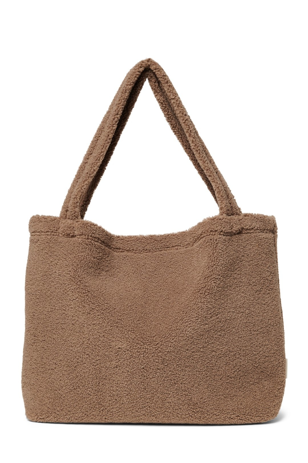 Brown chunky teddy mom-bag-1
