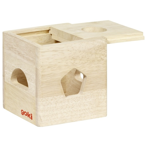 Wooden sorting box Rainbow-2
