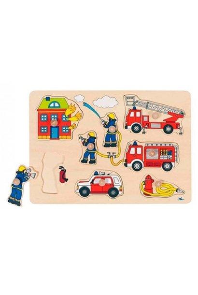 Puzzle fireman