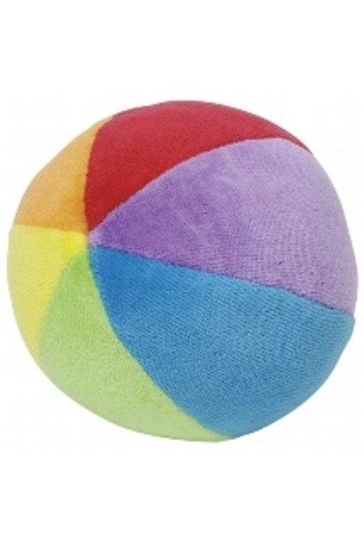 Zachte speelbal Regenboog