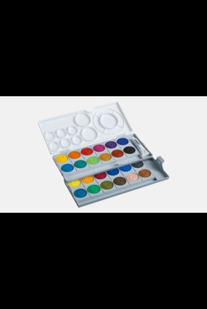 Verfdoos 24 kleuren