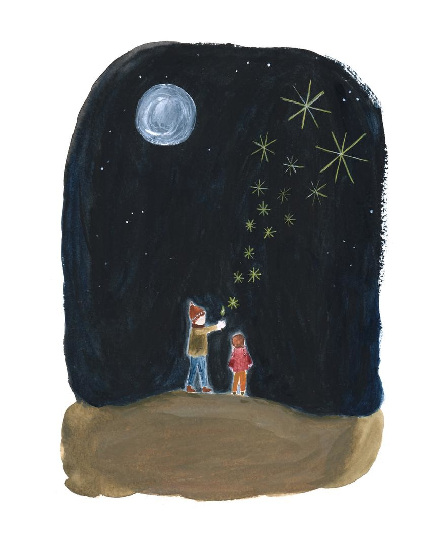 Stars in the night-1