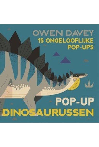 Pop-up dinosaurussen boekje