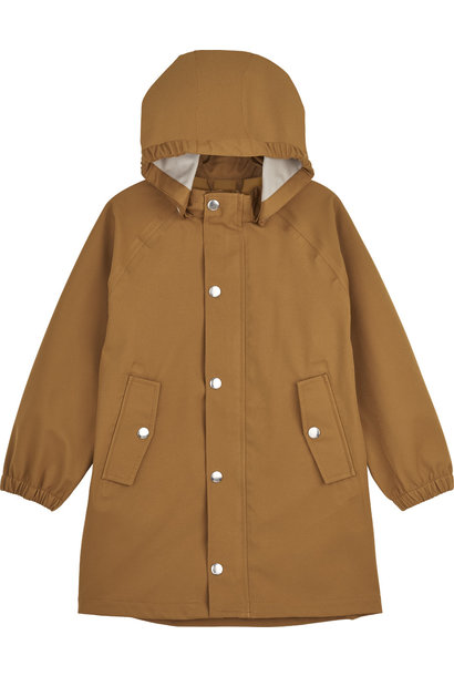 Spencer Long Raincoat Mustard