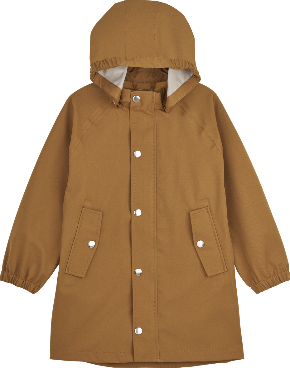 Spencer Long Raincoat Mustard-1