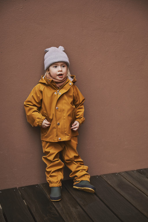 Dakota Rainwear Mustard-3