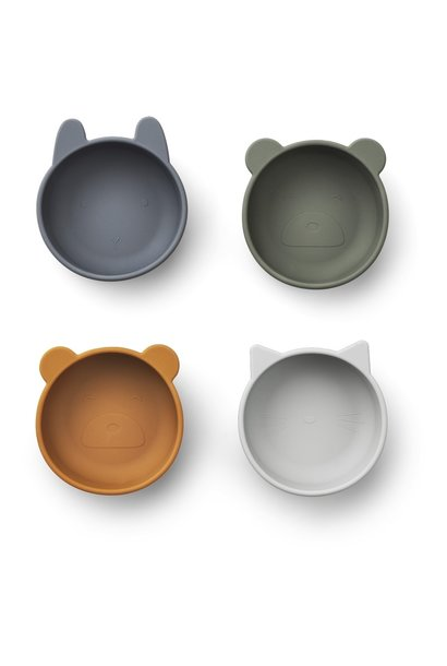 Iggy Silicone Bowl 4-pack