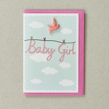 Greeting Card Baby Girl-1